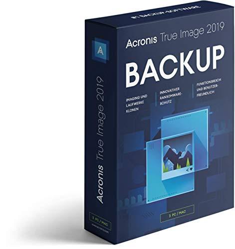 Acronis True Image 2019 3 PC Mac