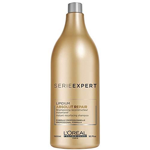 L'Oréal Professionnel Serie Expert Absolut Repair Lipidum Shampoo, 1er Pack, (1x 1,5 L)