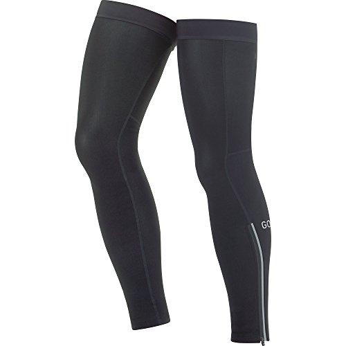 GORE WEAR Atmungsaktive Unisex Beinwärmer, C3 Leg Warmers, Größe: M-L, Farbe: Schwarz, 100249