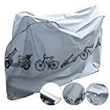 chengtao Fahrradschutzhülle, Wasserdicht Fahrradhülle Fahrradgarage Fahrrad Schutzhülle -Universal Fahrradschutz Fahrrad Abdeckung Cover 210x 98x110CM Hülle für Fahrrad Grey