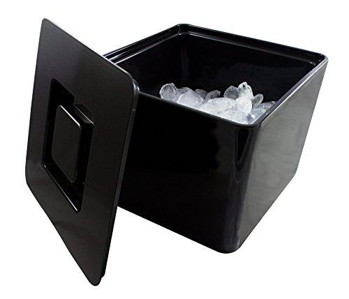 Eiswürfelbox mit Deckel und Siebeinsatz