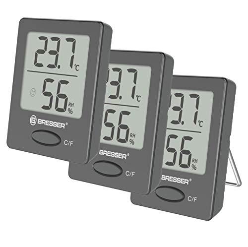Bresser Thermometer Hygrometer Temeo Hygro Indicator