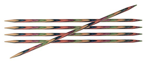 Knit Pro Symfonie Holz Strumpfstricknadeln 15cm