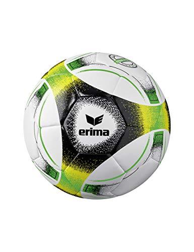 Erima Unisex- Erwachsene Hybrid Lite 350 Fußball, Green/schwarz/gelb, 5