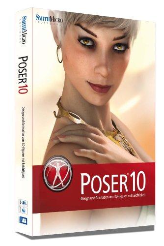 Poser 10 Box dt. Mac/Win