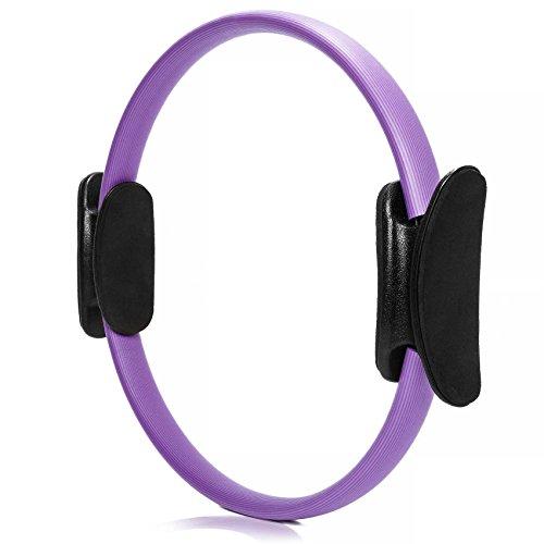 #DoYourFitness Pilates Ring ca. 36cm Durchmesser | gezieltes Training von Arm- & Beinmuskulatur - Yoga Gymnastik Aerobic Core-Trainer violett