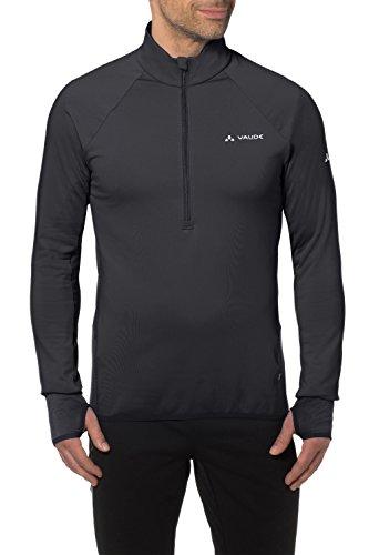 Vaude Herren Pullover Livigno Halfzip 4279, Pullover, black, M