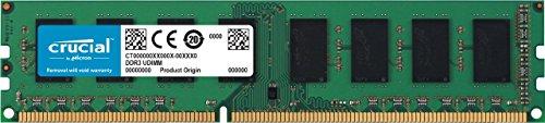 Crucial CT102464BD160B 8GB Speicher (DDR3L, 1600 MT/s, PC3L-12800, DIMM, 240-Pin)