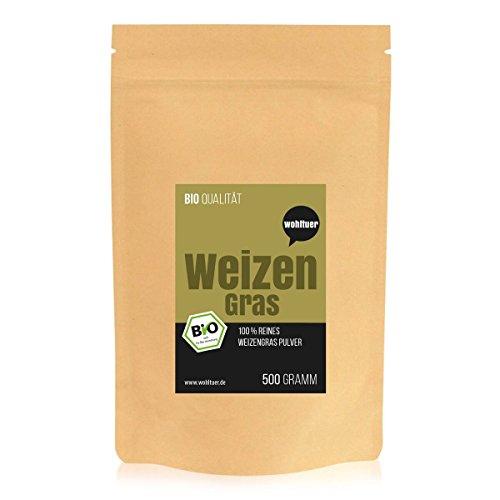 Wohltuer Bio-Weizengraspulver 500g / Bio Weizengras (DE-ÖKO-006)
