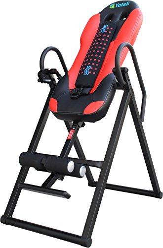Inversionsbank klappbar Yatek Deluxe, Inversionstisch für bis zu 150kg mit Massager, Robust und 180º Inversionsmöglichkeit.