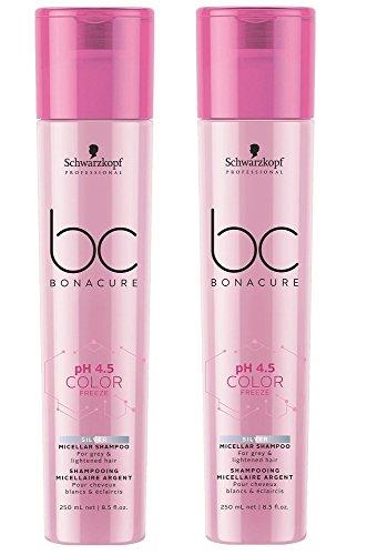 Schwarzkopf BC Bonacure Color Freeze Silver Shampoo SET 2 x 250ml
