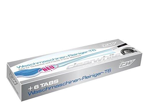 Clearwhite T6 Waschmaschinen Reiniger Tabs T6