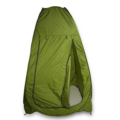 lyrlody Lagerzelt, Tragbare Wasserdicht Pop up Umkleidezelt Camping Duschzelt Toilettenzelt Privatsphäre Zelt mit Tragetasche für Outdoor-Camping, 1,2 * 1,2 * 1,9 m