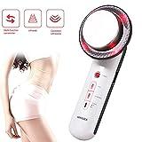 Hans-eu Ultraschall Fett Cellulite Removal Massagegerät Infrarot + CV Vibration EMS Körper Abnehmen Massager für Gewichtsreduktion