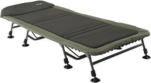 Chub Vantage Flatbed Wide 8 Leg 1378157 Liege Angelliege Karpfenliegen Bedchair
