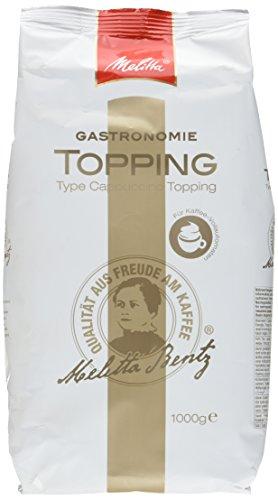 Melitta Professional Topping für Kaffee-Vollautomaten, Pulverförmig, Kaffeeweißer, 1er Pack (1 x 1000 g)