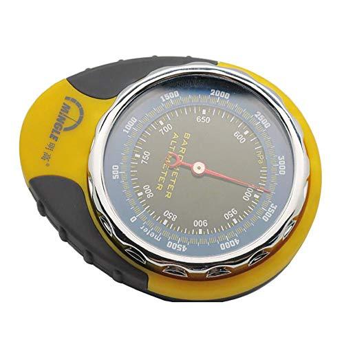 AIHOMЁ Multifunktion Höhenmesser/Barometer/Digitaler Kompass/Thermometer Klettern/Laufen/Wandern/Outdoor Sportarten/Sport