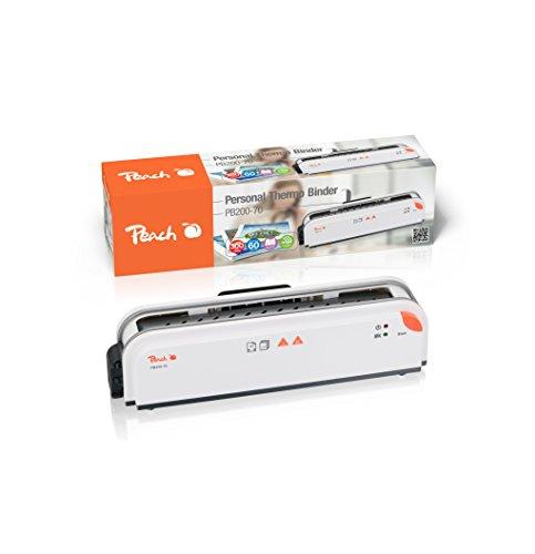 Peach PB200-70 Thermobindegerät DIN-A4  bindet 300 Seiten   3 min. Aufwärmzeit   1 min. Bindezeit   Thermal Binding