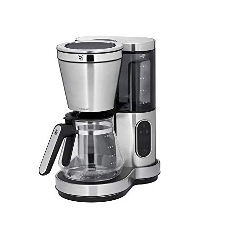 WMF 0412320011 Lumero Kaffeemaschine mit Glaskanne, 1000 W, cromargan matt
