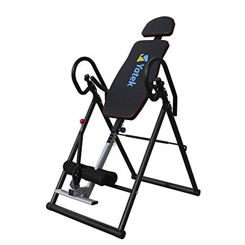 Faltbarer Inversionstisch Yatek ECO Inversionsbank mit vollständiger Inversion, Rückentrainer es unterstützt bis zu 150 kg