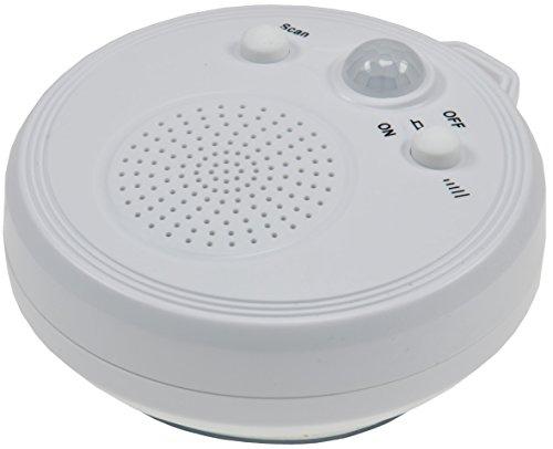 Duschradio 'CT DR2' mit PIR-Sensor Saugnapf FM Radio tragbar wasserdicht
