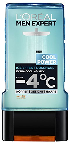 L'Oréal Men Expert Duschgel Cool Power, 2er Pack (2 x 300 ml)