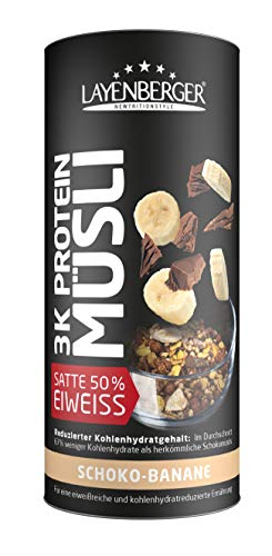 Layenberger 3K Protein Müsli Schoko-Banane, 390 g