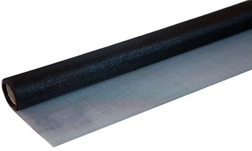 Windhager 03438 Insektenschutz Fliegengitter Insektenschutzgewebe aus hochwertigem Fiberglas, Maschenfest verschweißt, UV-beständig, 100 x 250 cm,anthrazit