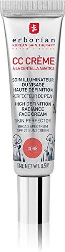 Erborian CC Creme Doré Centella Asiatica HD LSF25, 15 ml