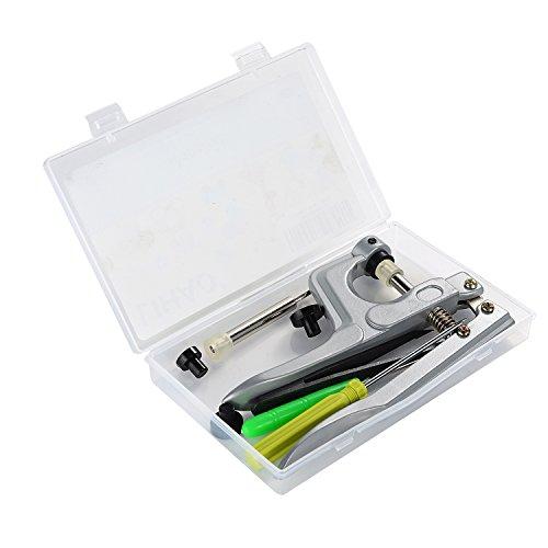 LIHAO SNAPS Zange Druckknopfzange für T3 T5 T8 Druckknöpfe Nähfrei Buttons für DIY Basteln Scrapbook