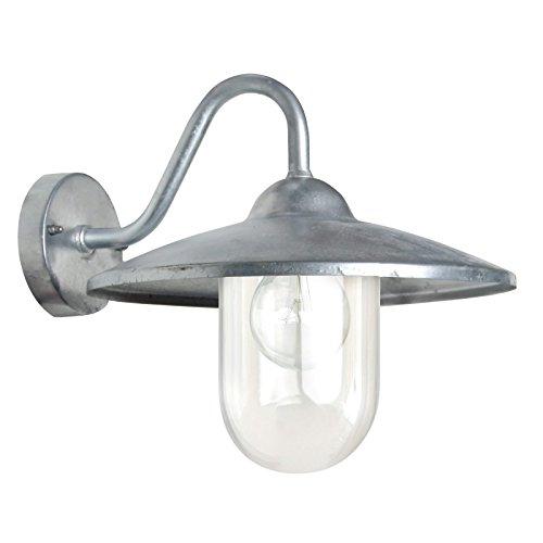 Hoflampe Brig - Galvanisierte Außenleuchte