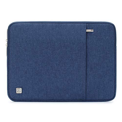 NIDOO 17 Zoll Wasserdicht Laptop Sleeve Case Notebook Hülle Schutzhülle Tasche Laptoptasche Schutzabdeckung für 17.3' HP Pavilion 17 / HP 17/17.3' Dell Inspiron 17, Blau