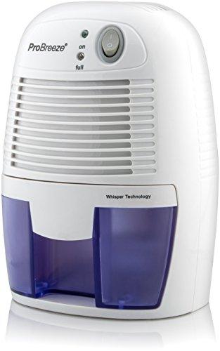 Pro Breeze 500ml kompakter und tragbarer Mini Luftentfeuchter gegen Feuchtigkeit, Schmutz und Schimmel zu Hause, in der Küche, im Schlafzimmer, Wohnwagen, Büro und Garage