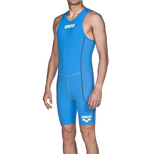 arena Herren Triathlon Einteiler Powerskin ST (Rückenreißverschluss, Schnelltrocknend, Bewegungsfreiheit), Brilliant Blue (88), S