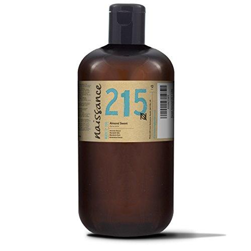 Naissance reines Mandelöl süß 1 Liter (1000ml) - Vegan, gentechnikfrei - Ideal zur Haut- und Haarpflege, für Aromatherapie und als Basisöl für Massageöle