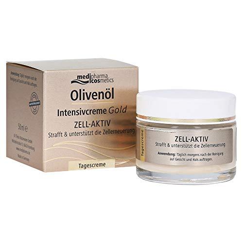 Olivenöl Intensivcreme Gold Zell-Aktiv Tagescreme, 50 ml
