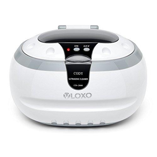 Ultraschallreinigungsgerät Ultraschallreiniger Ultraschallgerät 600ml - VLOXO für Brille Uhren Schmuck Ohrringe Ringe Halsketten Rasierer Zahnprothesen Tattoo Werkzeuge
