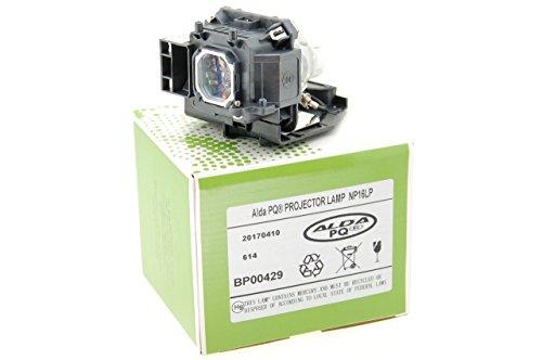 Alda PQ Beamerlampe NEC NP16LP für NEC M260WS, M300W, M300XS, M350X, M300WG, M260WSG, M300XSG, M350XG, ME310XC, ME360XC, ME300X+, ME350X+ Projektoren, Lampenmodul mit Gehäuse