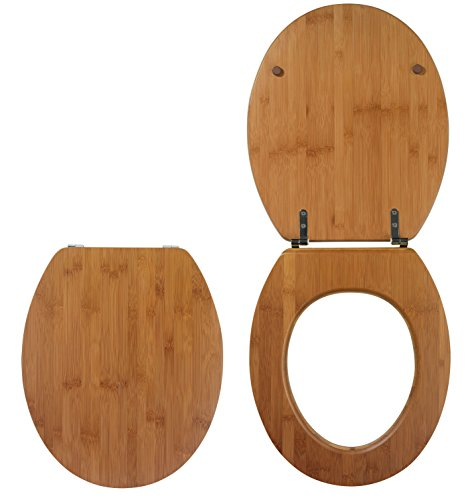 Wirquin 20719732 WC Deckel, Casual Line Bamboo Bambus, Natur