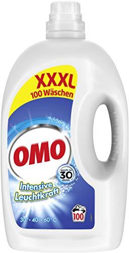 Omo Waschmittel Flüssig Universal 100 Wäschen, 5.1 l