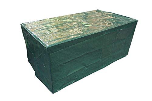 Laxllent Schutzhülle für Tisch,Wasserdicht Atmungsaktiv,Abdeckung für Stühle,Sofa,Gartenmöbel,PE,Grün (170x95x70cm)