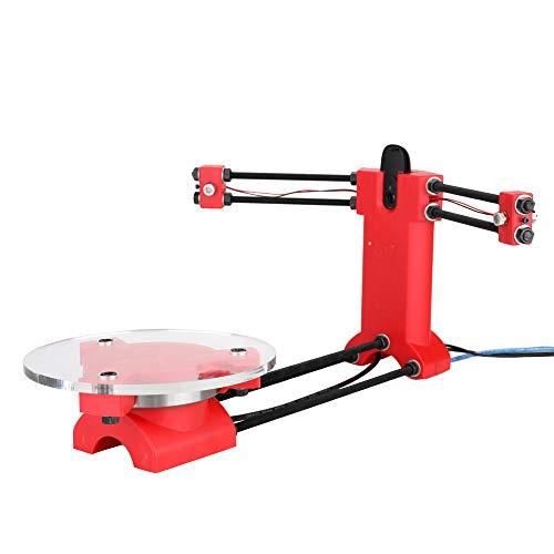 Docooler DIY Scanner Kit 3D Scanner Open Source Scanner Hochpräziser Desktop Basic Scanister Kit mit Multifunktionsstecker