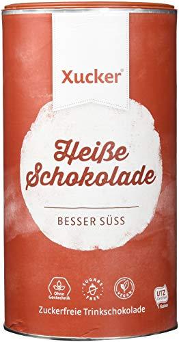 Xucker Heiße Schokolade (UTZ Xylit Trinkschokolade) - Pulver in Dose (29.5% Kakao) - vegan, ohne Gentechnik, zuckerfrei, 800 g