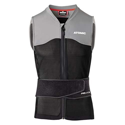 ATOMIC Herren Live Shield Vest M Ski-Protektor-Weste, black/grey, XL