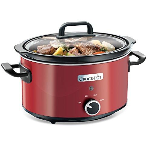 Crock-Pot SCV400RD-050 Roter Schongarer / Slow Cooker 3,5 L