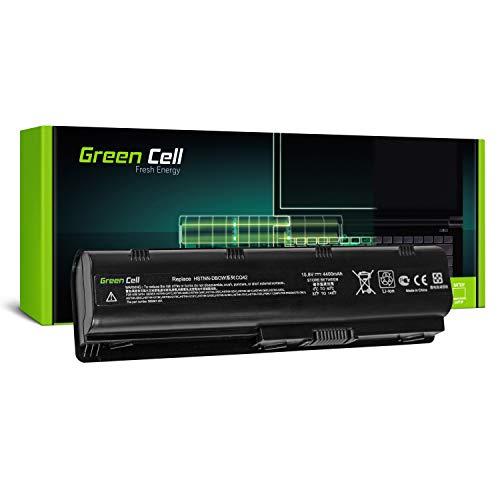Green Cell Extended Serie MU06 Laptop Akku für HP 250 255 2000 635 650 655 Pavilion G4 G6 G62 G7 Compaq Presario CQ56 CQ62 (9 Zellen 6600mAh 10.8V Schwarz)