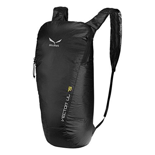 Salewa Unisex - Erwachsene Vector UL Rucksack, black, 46 x 26 x 17cm, 15 liter, 00-0000002425