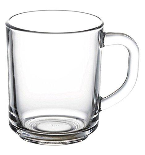 Pasabahce 55531 – Trinkgläser, Teeglas Mit Henkel 'Basic', 6er Set