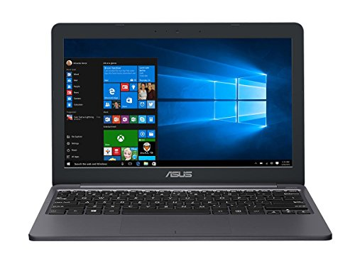 Asus E203NA-FD029TS 29,4 cm (11,6 Zoll) Notebook (Intel Dual-Core Celeron N3350 Processor, 4GB RAM, Intel HD Graphics 500, Win 10) grau
