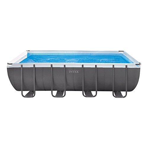 Intex Swimming-Pool-Rahmen 549 x 274 x 132 cm grau